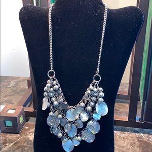 Loft Bead & Bauble Silver-Tone Necklace